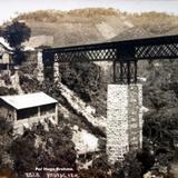 Panorama y puente Por el fotografo Hugo Brehme.