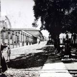 Avenida Central Hidalgo. ( Circulada el 3 de Octubre de 1933 ).