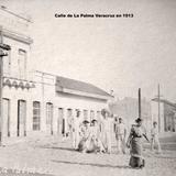 Calle de La Palma Veracruz en 1913 Durante la Revolucion Mexicana.
