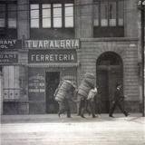 Cargadores en Veracruz 1913 Durante la Revolucion Mexicana.