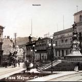 La Plaza Mayor.