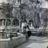 Fuente y Palacio Municipal de Monterrey, Nuevo León ( Circulada el 27 de Diciembre de 1908 ).