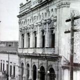 Teatro Jose Rosas Moreno Lagos de Moreno Jalisco. ( Circulada el 27 de Julio de 1957 ).
