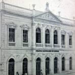 Teatro Bartolome de Medina.( Circulada el 14 de Septiembre de 1908 ).