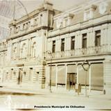 Presidencia Municipal de Chihuahua ( Circulada el 1 de Enero de 1930 ).