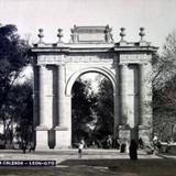 El Arco de La Calzada ( Circulada el 20 de Septiembre de 1907 ).