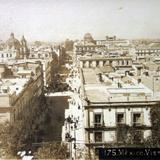 Mexico Vista Panoramica por el fotografo Fernando Kososky. ( Circulada el 2 de Noviembre de 1910 ).