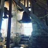 catedral en el campanario