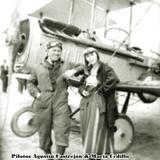 Pilotos Agustín Castrejón & María Cedillo, Guerra Cristera, Irapuato 1928