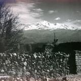Volcan Iztaccíhuatl por el Fotógrafo Hugo Brehme.