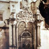 El convento de Guadalupe por el Fotógrafo Hugo Brehme.
