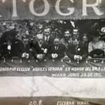 Combate floral organizado por el club Aquiles Serdan en honor al senor Fransico I Madero ( 25 de Junio de 1911 )