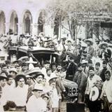 Funerales del jefe Revolucionario Pilar Quinteros ( 20 de Abril de 1912 )