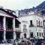 Escena callejera Taxco, Guerrero 1974 .