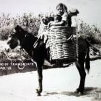 Tipos Mexicanos Original medio de transporte.