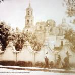 Iglesia de Tacuba Ciudad de México por el Fotógrafo Hugo Brehme ( Circulada 28 de Septiembre de 1922 )