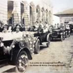 Los coches de su magestad Lucrecia I y sus damas de honor Zacapoaxtla Puebla.