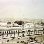 Un aspecto del Palacio Nacional.