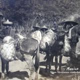 Tipos Mexicanos vendedores de Pulque.