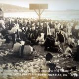 Aspecto de Excursionistas en Viernes Santo Balneario Playa Norte ( Fechada en 1933 )