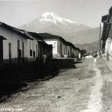 Volcan Citlaltepetl o Pico de Orizaba desde Coscomatepec.