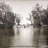 Lago de Chapultepec.Ciudad de México.