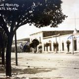 El Banco y Calle Principal. ( Circulada el 16 de Marzo de 1933 )