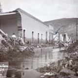 Calle San Pedro Inundacion acaecida en Septiembre de 1927,