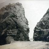 Paseo Claussen. ( Circulada el 24 de Febrero de 1924 )