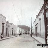 Calle de La Ensenanza.