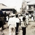Calle del Bajo mercado ( Circulada el 7 de Diciembre de 1922 ).