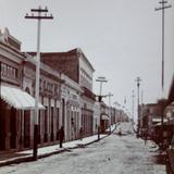 Calle Hidalgo ( Por el Fotógrafo A. W. Lohn )