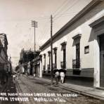 Casa donde nacio el gran libertador de Mexico Agustin de Iturbide.