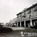 Hotel Comercial y Avenida Ruiz ( Circulada el 10 de Marzo de 1939 ).