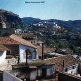 Panorama de Taxco, Guerrero ( 1957 ).