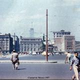 El Zocalo Ciudad de México 1957 .
