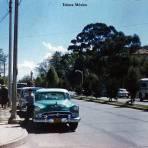 Escena callejera Toluca, México 1957.