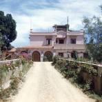 Entrada al Hotel Oaxaca Courts (1951)