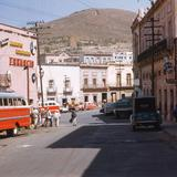 Calle Guerrero con vista hacia Calle Tacuba (1961)