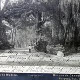 Alrededores de Mexico por el Fotógrafo Abel Briquet. ( Circulada el 25 de Agosto de 1908 )