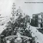 La Plaza de Santo Domingo  por el Fotógrafo Abel Briquet.