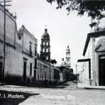 Calle Francisco I Madero ( Circulada el 6 de Febrero de 1945 ).