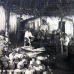 Vendedores de cocos.