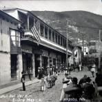 Hotel del Jardin. ( Circulada el 24 de Agosto de 1909 ).
