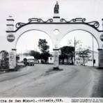 Garita de San Miguel.