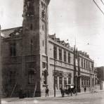 Estación de policía durante la Decena Trágica (1913)