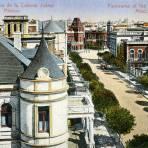 Vista panorámica de la Colonia Juárez