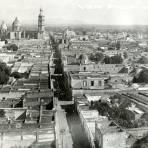 Vista panorámica de León
