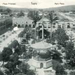 Plaza principal de Tepic
