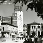 Plaza Zaragoza y Hotel Monterrey
